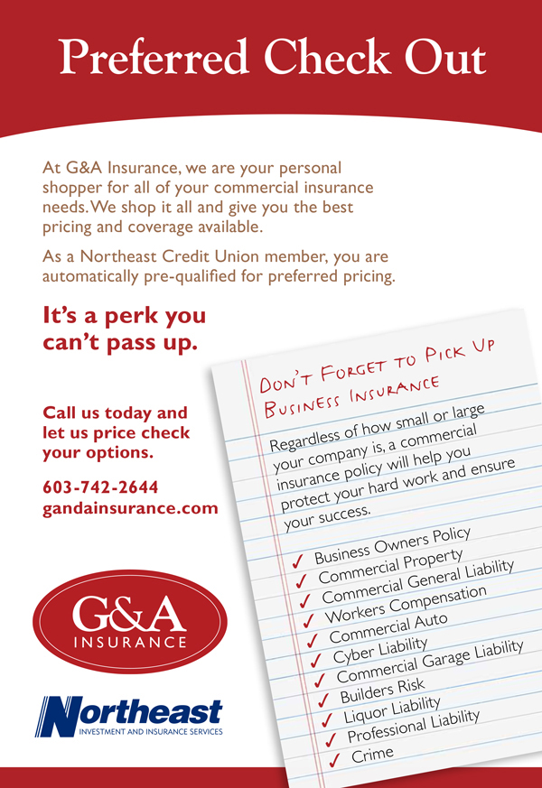 "G&A Insurance: ""Let Us Be Your Personal Shopper."""